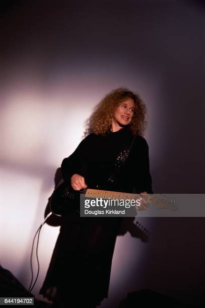 Carole King Playing Electric Guitar