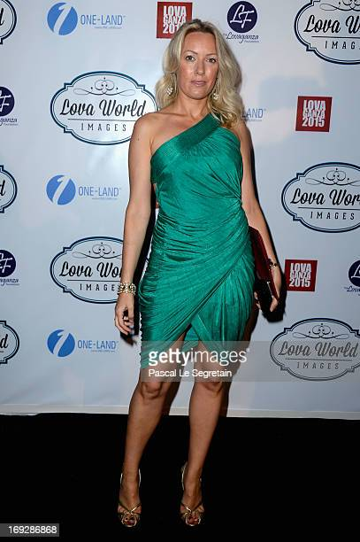 Carole Kittner attends the Lova World Images Closing Party during the 66th Annual Cannes Film Festival at Baoli Beach on May 22 2013 in Cannes France