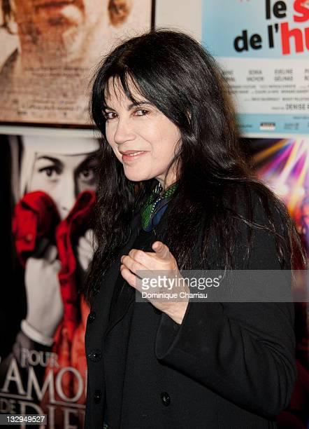 Carole Laure attends the Cafe de Flore premiere for the 'Cinema du Quebec' Festival Opening At Forum Des Images on November 15 2011 in Paris France