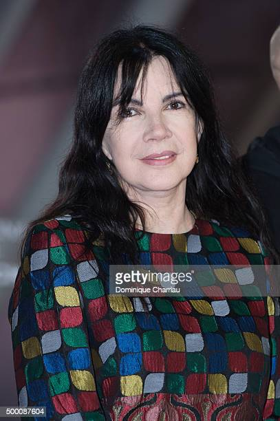 Carole Laure attends the MR Holmes premiere during the15th Marrakech International Film Festival on December 5 2015 in Marrakech Morocco