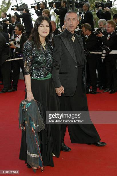 Carole Laure during 2003 Cannes Film Festival Closing Ceremony Arrivals at Palais des Festivals in Cannes France