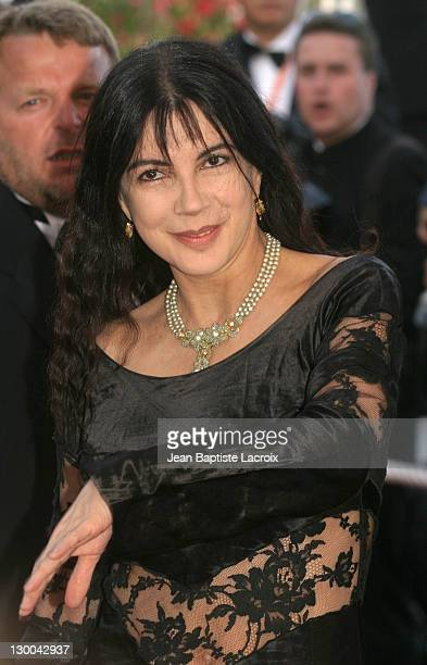 Carole Laure during 2003 Cannes Film Festival The Barbarian Invasions Premiere at Palais des Festivals in Cannes France