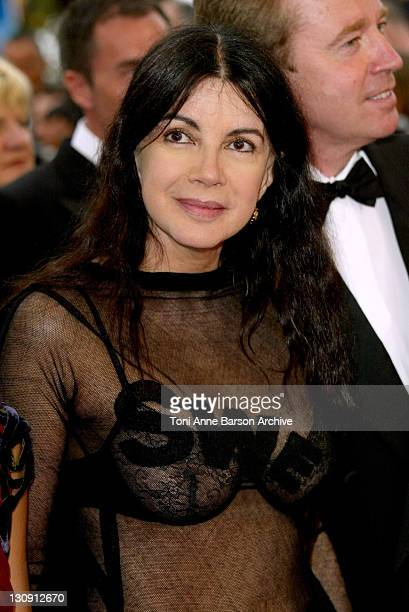 Carole Laure during 2004 Cannes Film Festival De Lovely Premiere And Closing Ceremony at Palais Des Festival in Cannes France