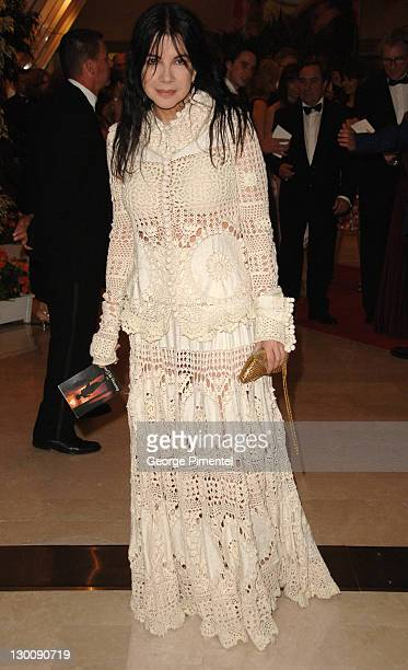 Carole Laure during 2006 Cannes Film Festival Gala Dinner Arrivals at Palais Du Festival in Cannes France