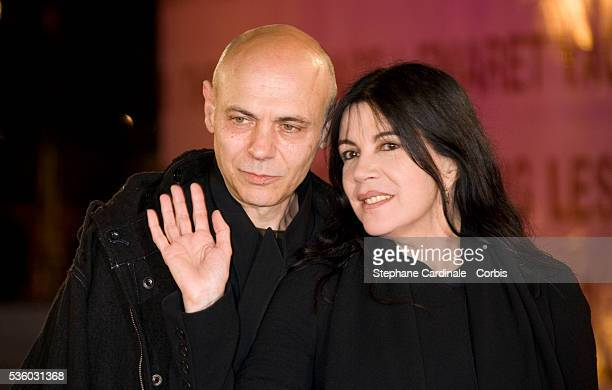 Carole Laure with her husband Lewis Furey attends the Tribute to Shinji Aoyama at the 7th Marrakech Film Festival in Morocco