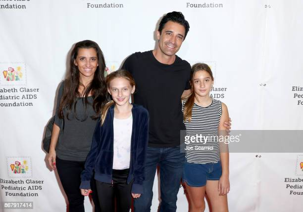 Carole Marini Gilles Marini and family at The Elizabeth Glaser Pediatric AIDS Foundation's 28th annual 'A Time For Heroes' family festival at...