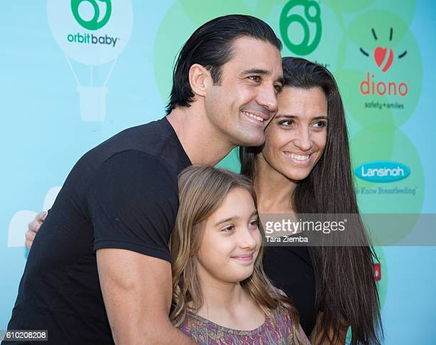 Carole Marini Juliana Marini and actor Gilles Marini attend the Step2 Favoredby Present The 5th Annual Red Carpet Safety Awareness Event at Sony...
