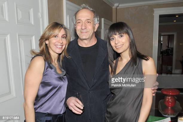 Carole Marshi Nabil Nahas and Nazy Nazhand attend Launch of ART MIDDLE EAST Cocktail Reception Hosted by ROYA and MASSOUD HEIDARI and NAZY NAZHAND at...