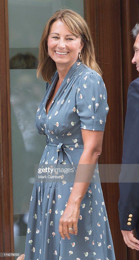 Duke & Duchess Of Cambridge Welcome A Son : News Photo