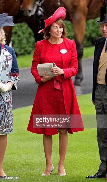 Carole Middleton attends Ladies Day during Royal Ascot at Ascot Racecourse on June 21, 2012 in Ascot, England.