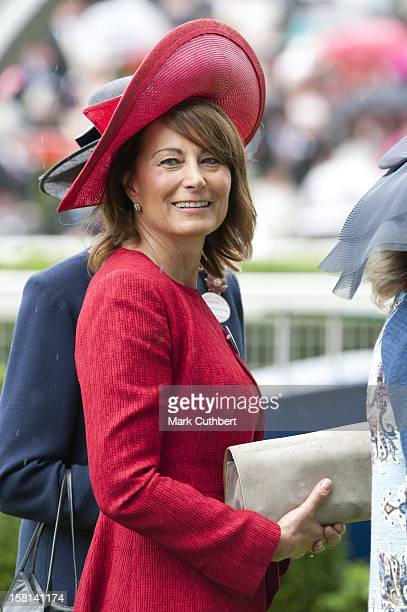 Carole Middleton On The Third Day Of Royal Ascot