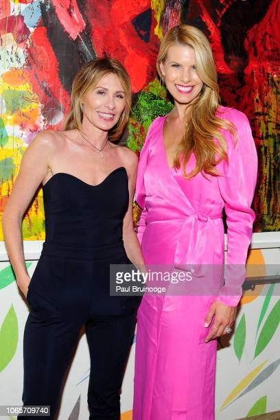 Carole Radziwill and Beth Stern attend Roadside Attractions With The Cinema Society Host A Special Screening Of Ben Is Back at The Whitby Hotel on...