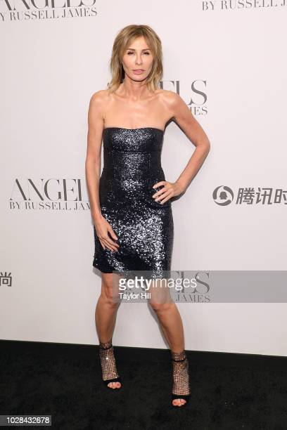 Carole Radziwill attends Russell James' launch of his photobook and exhibition Angels at Stephan Weiss Studio on September 6 2018 in New York City