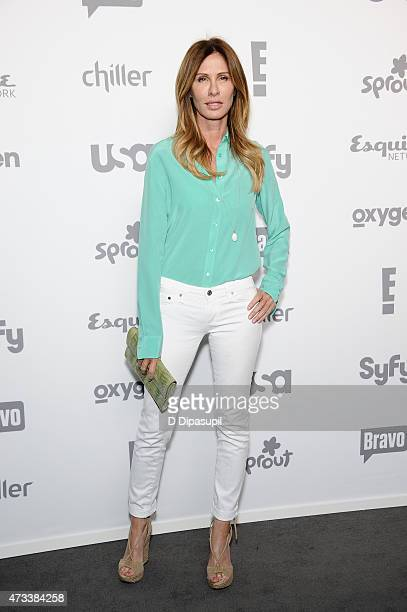 Carole Radziwill attends the 2015 NBCUniversal Cable Entertainment Upfront at The Jacob K Javits Convention Center on May 14 2015 in New York City