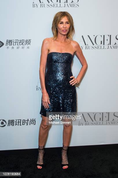Carole Radziwill attends the Russell James 'Angels' book launch exhibit at Stephan Weiss Studio on September 6 2018 in New York City