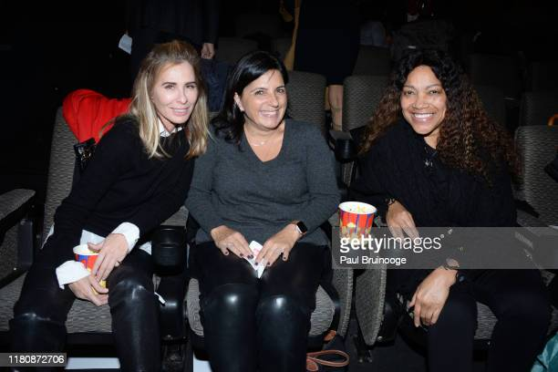 Carole Radziwill Barbara Fedida and Grace Hightower attend The US Premiere Of Entourage Production's Morocco A King A Vision An Ambition at Walter...