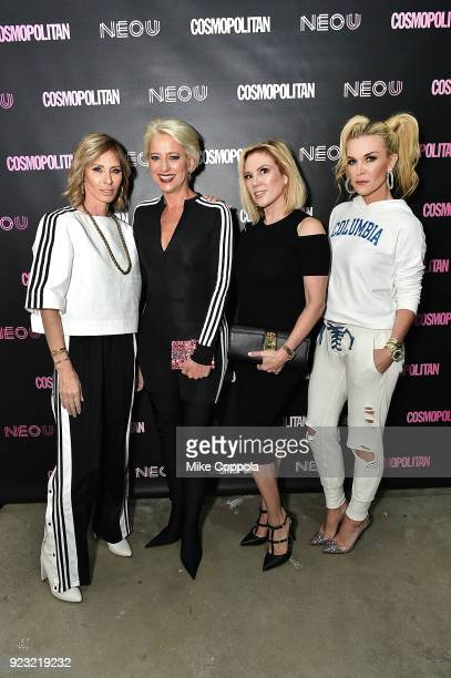 Carole Radziwill Dorinda Medley Ramona Singer and Tinsley Mortimer attend the opening of fitness space NEO cohosted by Cosmopolitan EditorinChief...
