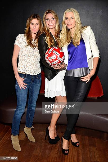 Carole Radziwill Heather Thomson and Aviva Drescher attend the 'The Real Housewives Of New York' season 5 premiere viewing party hosted by Aviva...