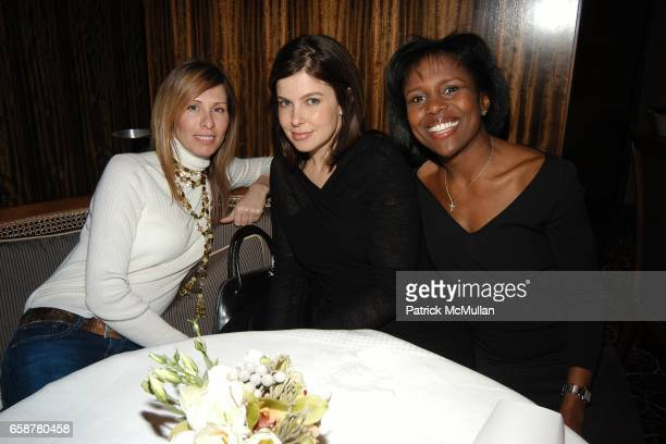 Carole Radziwill Jules Asner and Deborah Roberts attend Narciso Rodriguez Dinner hosted by Sarah Jessica Parker and The Seinfelds at Per Se in the...