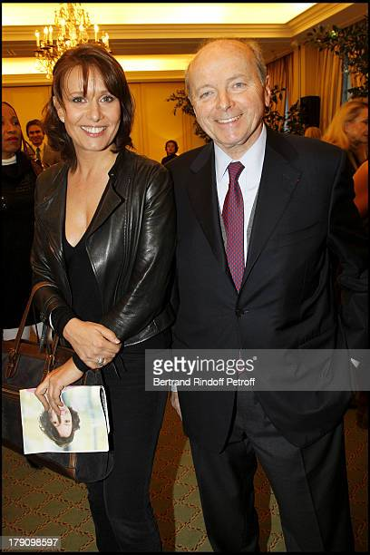 Carole Rousseau and Jacques Toubon at The Galette Des Rois Charity Function At Bristol In Paris Organised By Cira To Benefit Children Of Haiti