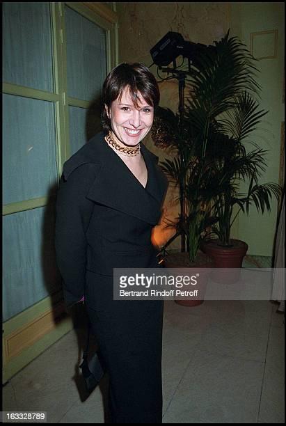 Carole Rousseau at a gala in honor of Ruggero Raimondi
