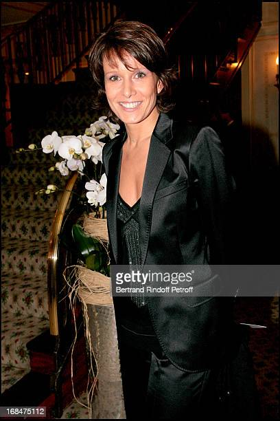Carole Rousseau at Dinner at Paviliion Ledoyen In Aid Of L'Association EEnfance