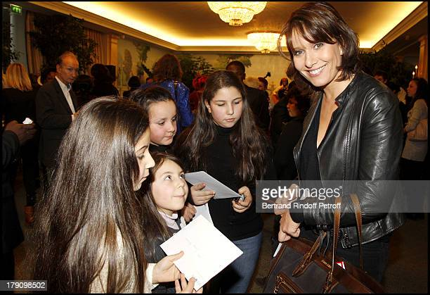 Carole Rousseau at The Galette Des Rois Charity Function At Bristol In Paris Organised By Cira To Benefit Children Of Haiti