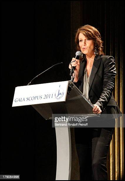 Carole Rousseau at The Scopus 2011 Awards Ceremony Held At The Champs Elysees Theatre In Paris