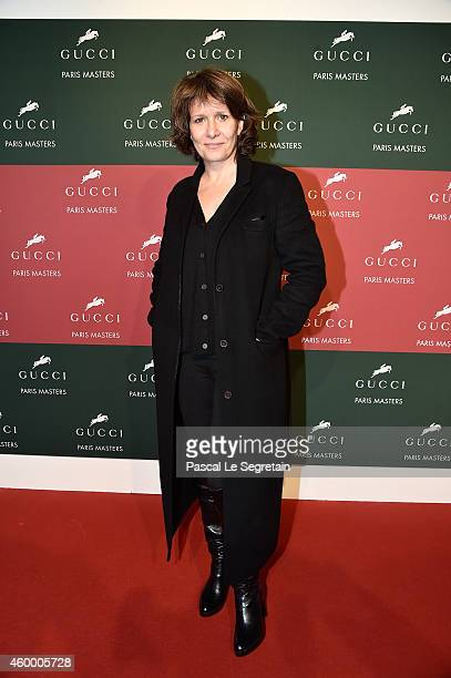 Carole Rousseau attends Day 2 of the Gucci Paris Masters 2014 on December 5 2014 in Villepinte France