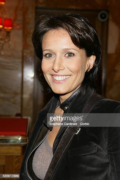 Carole Rousseau attends the 20th anniversary of TV Magazine