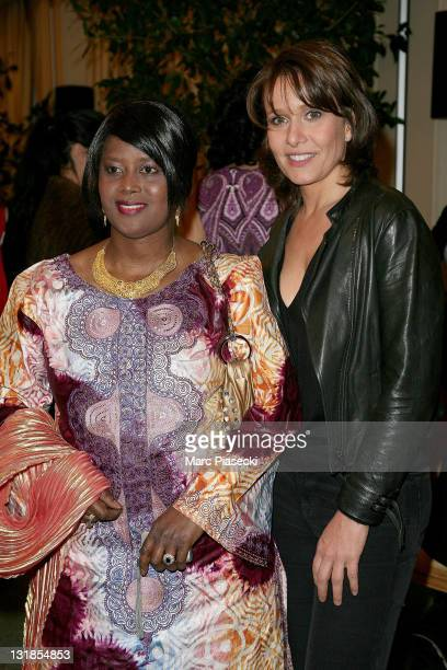 Carole Rousseau attends the charity event for 'children in Haiti' at Hotel Bristol on January 5 2011 in Paris France