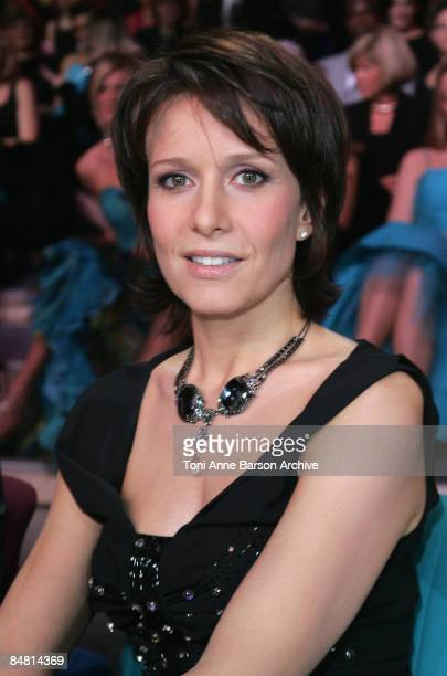 Carole Rousseau Jury Member of Miss France Pageant 2008 on December 08 2007 in Dunkerque