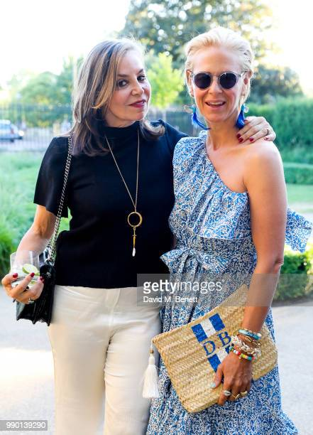 Carole Siller Mcalpine and Deborah Brett attend a dinner to celebrate the launch of St Mary's Children's Fund at Chucs Serpentine The Serpentine...