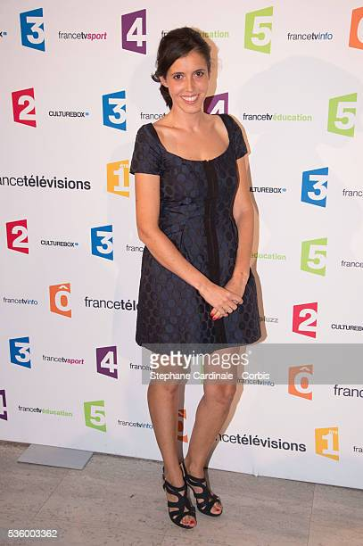 Carole Tolila attends 'France Televisions' Photocall at Palais De Tokyo on August 26 2014 in Paris France