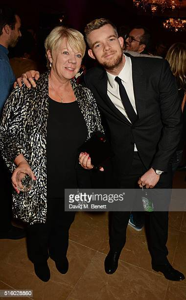 Carole Haynes and Russell Tovey attend the after party following the UK Premiere of 'The Pass' the opening night film of BFI Flare The London LGBT...