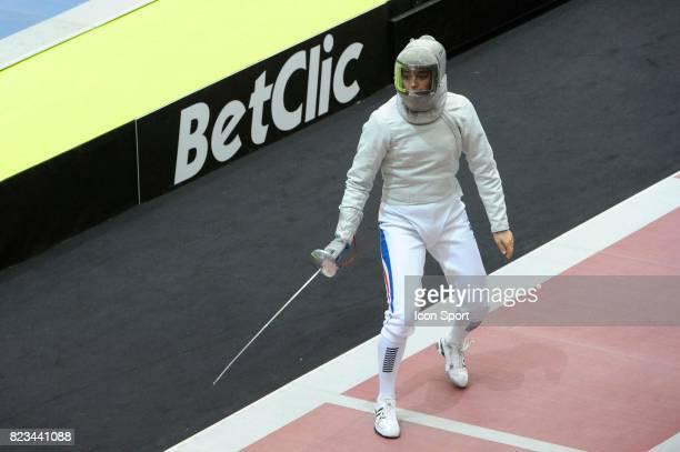Carole VERGNE Quart de Finale Sabre Sabre 06 112010 Championnats du Monde d Escrime 2010 Grand Palais Paris