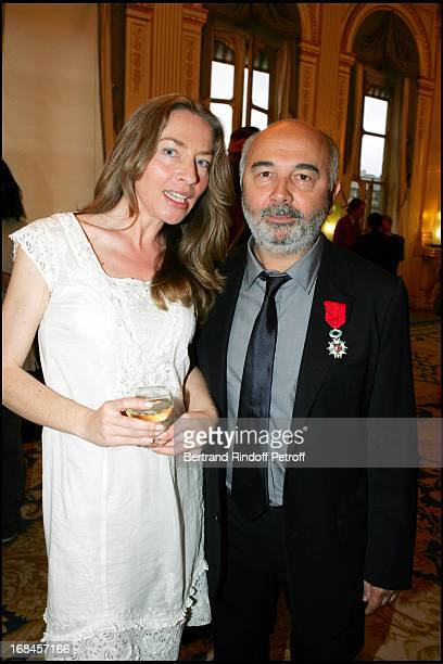 Carole Weiss at Gerard Jugnot Receives Chevalier Legion Of Honour