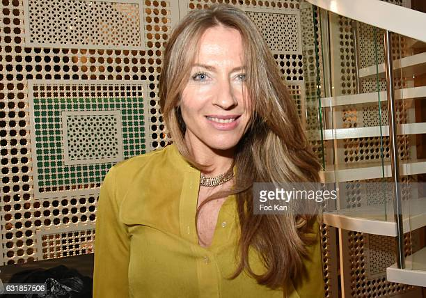 Carole Weiss attends 'Sylvie A Saint Tropez' Sylvie Bourgeois Harel Book Signing at Librairie Des Femmes on January 16 2017 in Paris France