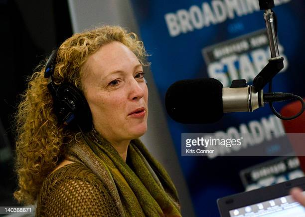 Carolee Campbell speaks on SiriusXM's Broadminded radio show at SiriusXM Studio on March 2 2012 in Washington DC