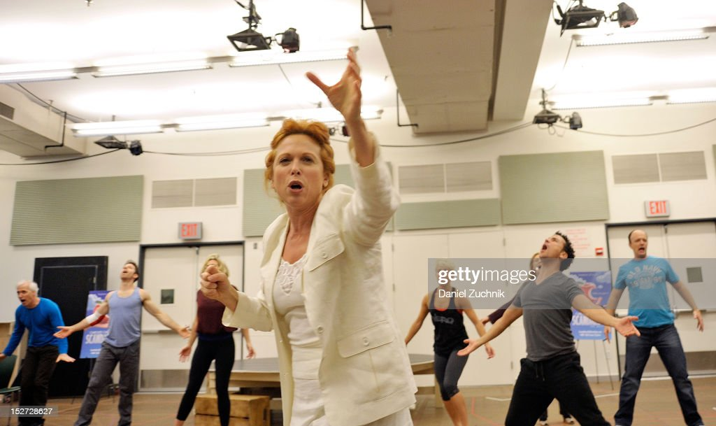 """Scandalous"" Broadway Cast Rehearsal"