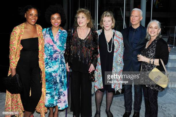 Carolee Schneemann Agnes Gund and Klaus Biesenbach attend 2017 MoMA PS1 Benefit Gala at The Museum of Modern Art on June 20 2017 in New York City