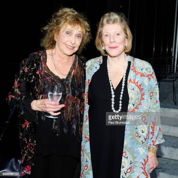 Carolee Schneemann and Agnes Gund attend 2017 MoMA PS1 Benefit Gala at The Museum of Modern Art on June 20 2017 in New York City