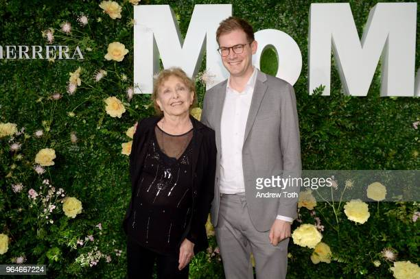 Carolee Schneemann and Kenneth White attend MOMA's Party in the Garden 2018 at The Museum of Modern Art on May 31 2018 in New York City
