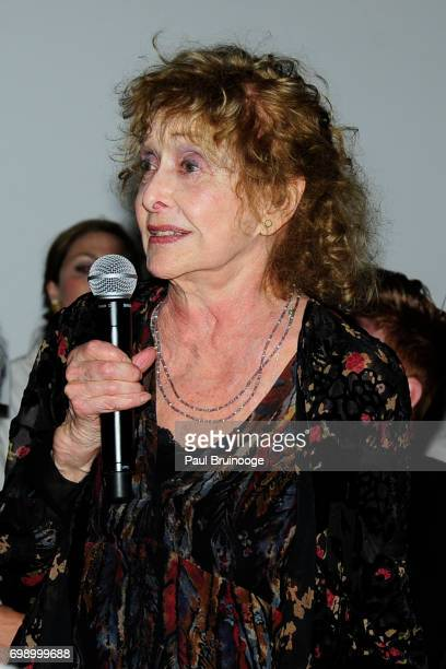 Carolee Schneemann attends 2017 MoMA PS1 Benefit Gala at The Museum of Modern Art on June 20 2017 in New York City