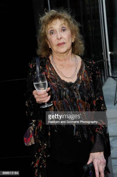 Carolee Schneemann attends the 2017 MoMA PS1 benefit gala at The Museum of Modern Art on June 20 2017 in New York City