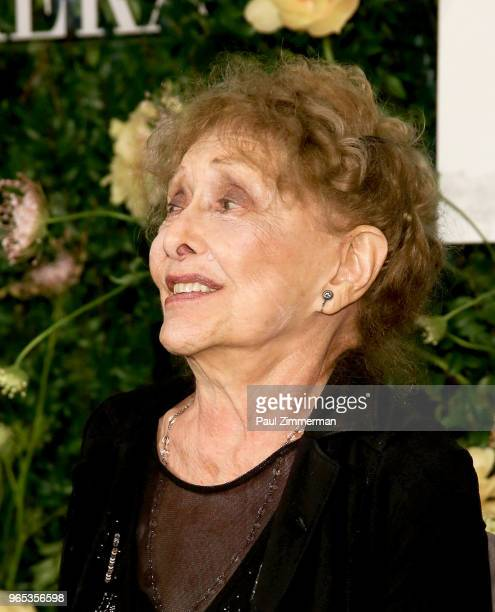Carolee Schneemann attends the 2018 MoMA Party In The Garden at Museum of Modern Art on May 31 2018 in New York City