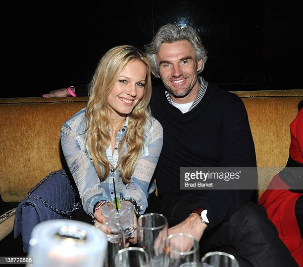 Carolin Dekeyser and Bobby Dekeyser attend the Charlotte Ronson Fall 2012 After Party at 1 Oak on February 10, 2012 in New York City.