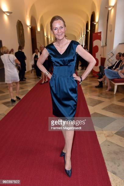 Carolin Fink attends the Bernhard Wicki Award 2018 during the Munich Film Festival 2018 at Cuvilles Theatre on July 5 2018 in Munich Germany