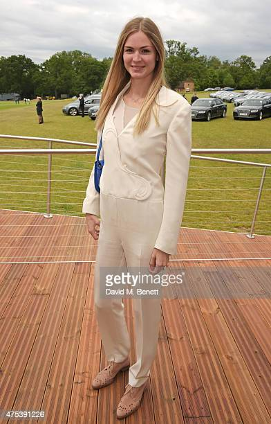Carolin Hauskeller attends day two of the Audi Polo Challenge at Coworth Park on May 31 2015 in London England