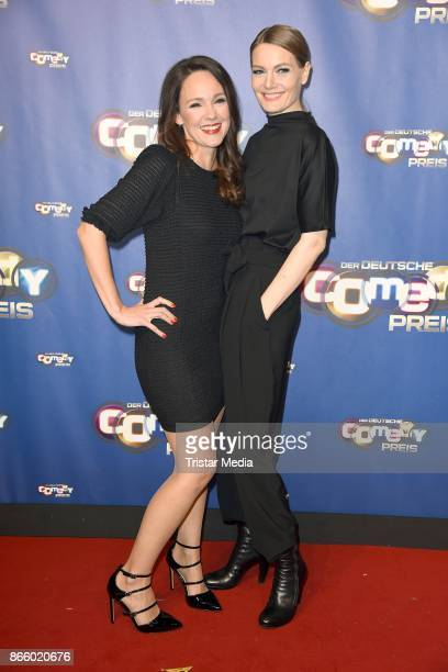 Carolin Kebekus and Martina Hill attend the German Comedy Awards at Studio in Koeln Muehlheim on October 24 2017 in Cologne Germany